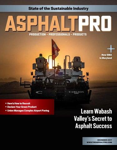 Asphalt Pro - December 2017 by Asphalt Pro LLC - issuu 78c739d0a1ee