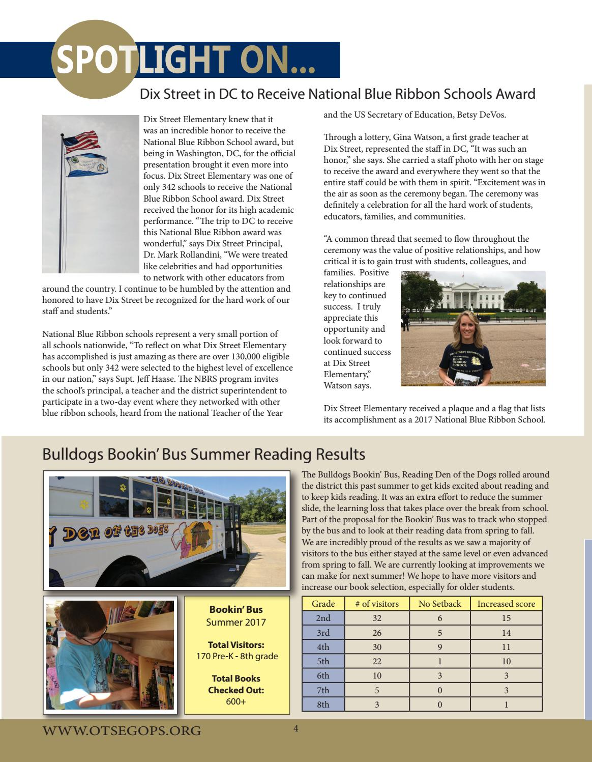 OPS Connection Fall 2017 by Otsego Public Schools - issuu