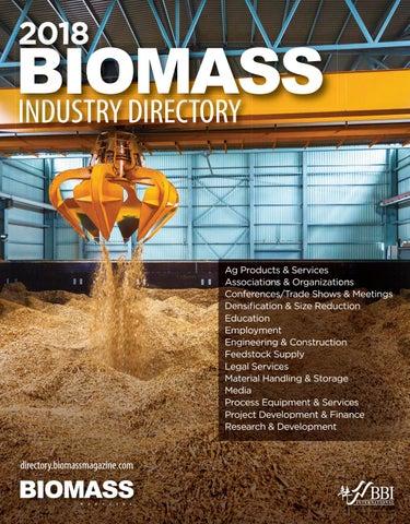 2018 Biomass Industry Directory by BBI International - issuu
