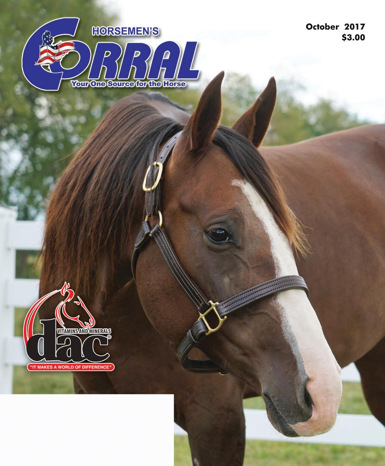 Horsemen's Corral October 2017 by Horsemen's Corral - issuu