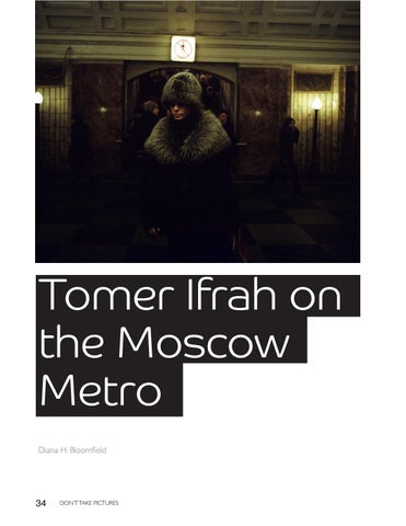 Page 34 of Tomer Ifrah on the Moscow Metro