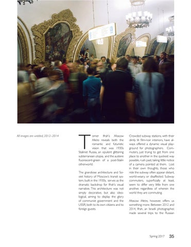 Page 35 of Tomer Ifrah on the Moscow Metro