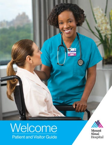 Welcome Guide - The Mount Sinai Hospital by Mount Sinai