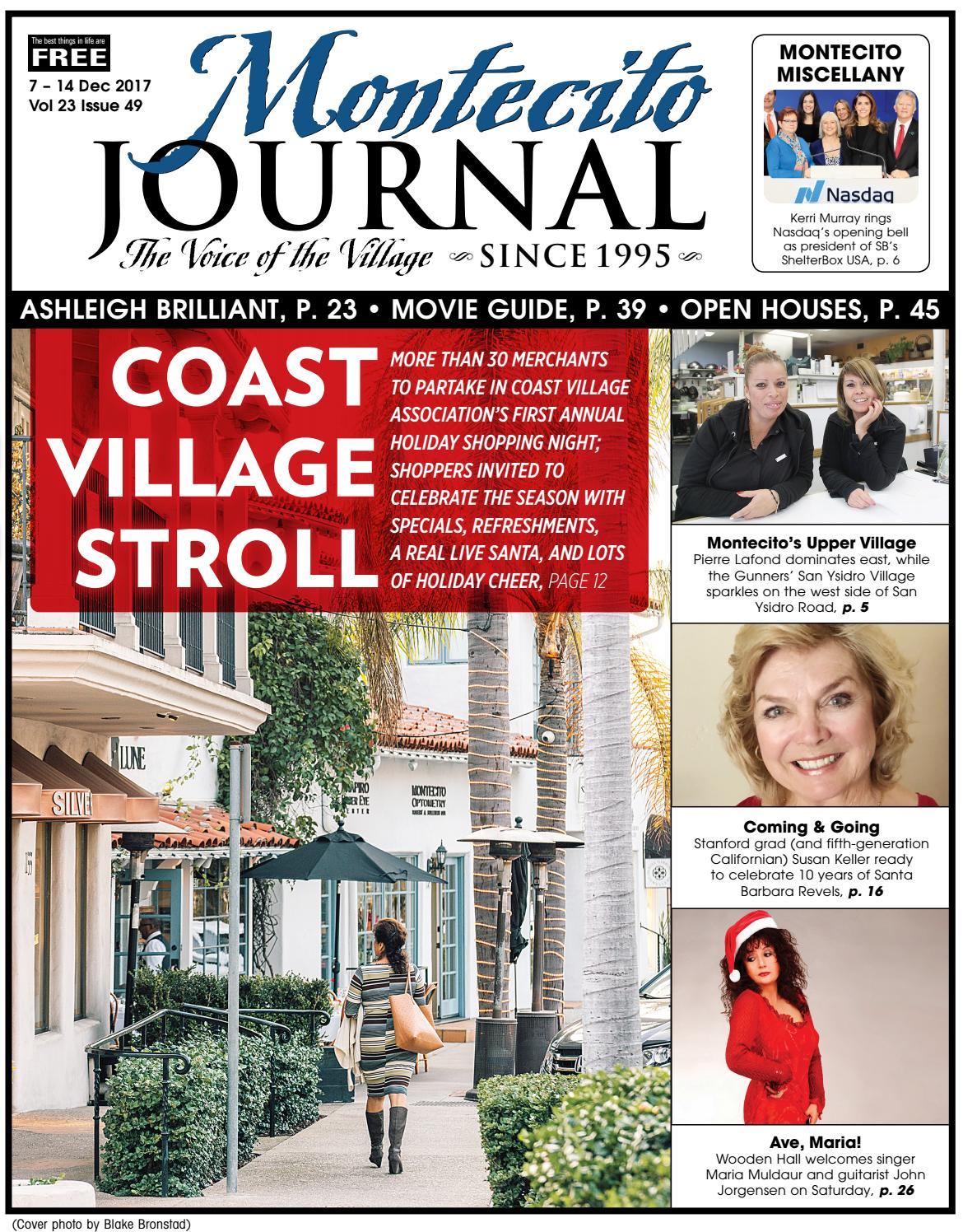Coast Village Stroll by Montecito Journal - issuu