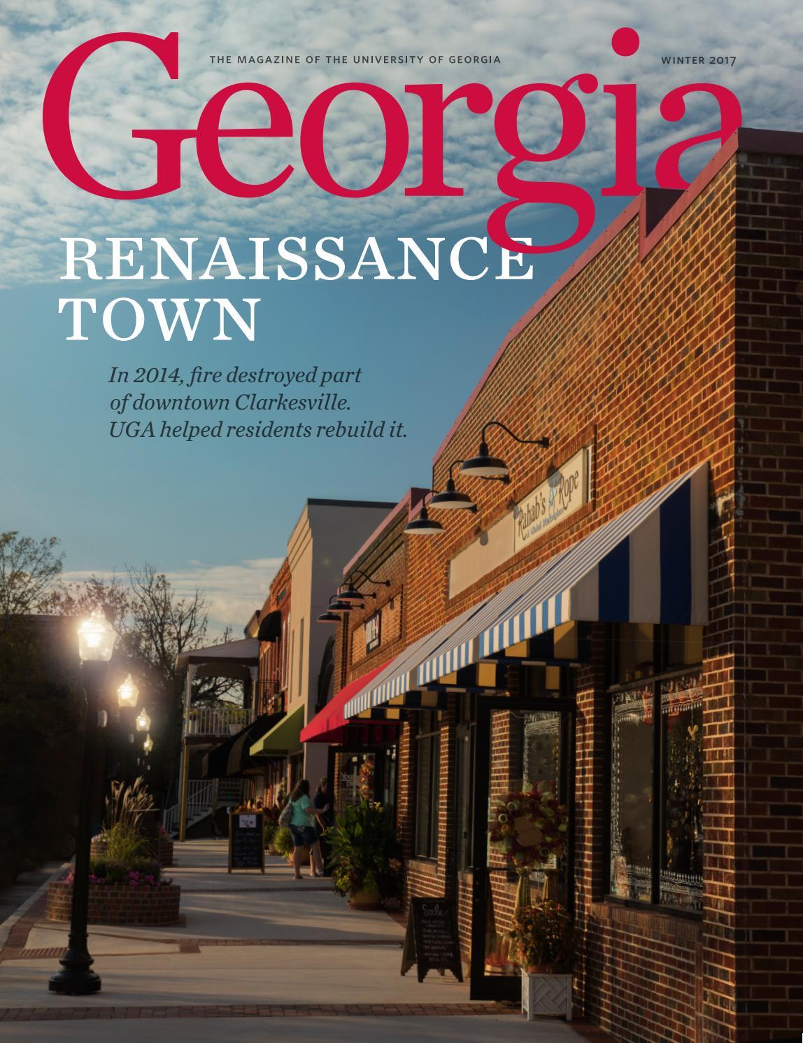 University Of Georgia Magazine Winter 2017 By University Of Georgia