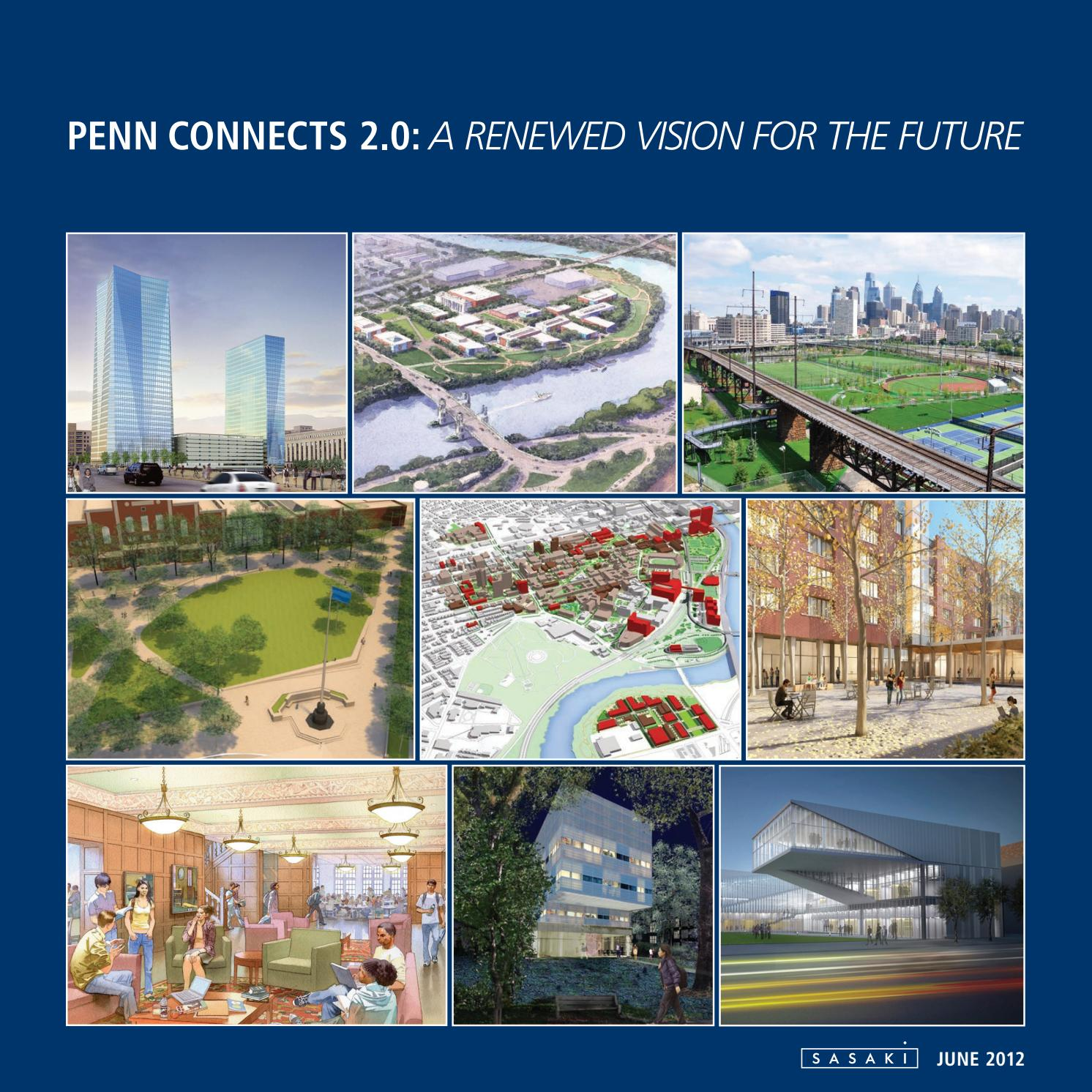 Penn Connects 2 0 Report by Sasaki - issuu