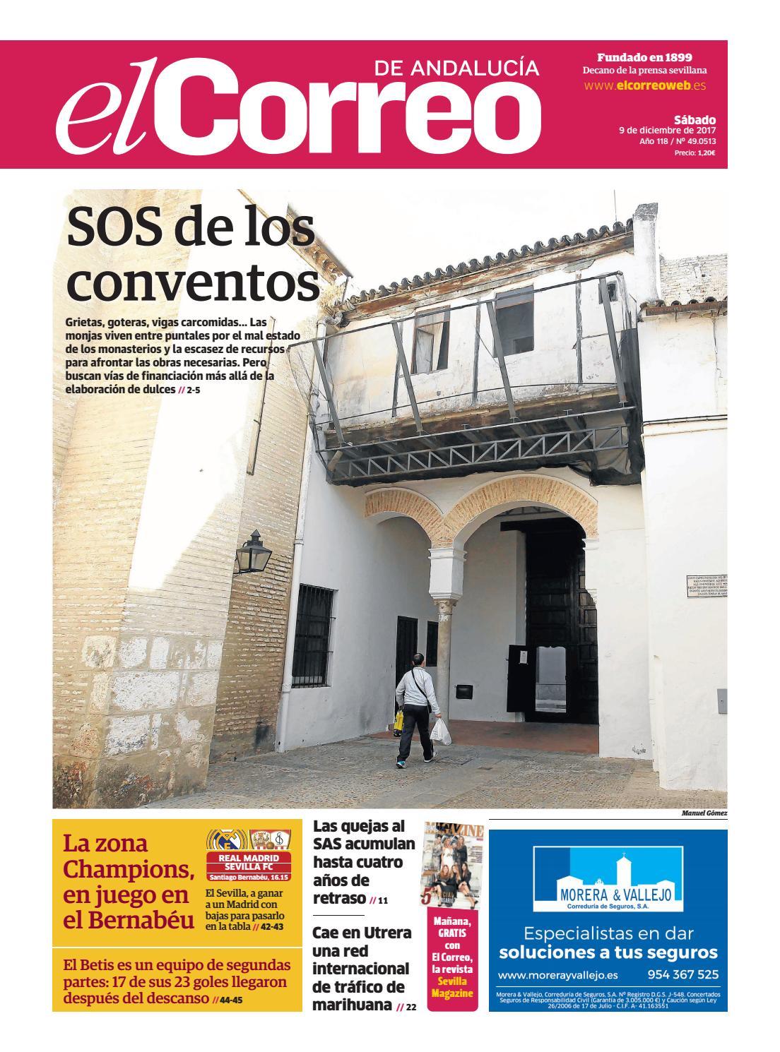 09.12.2017 El Correo de Andalucía by EL CORREO DE ANDALUCÍA S.L. - issuu