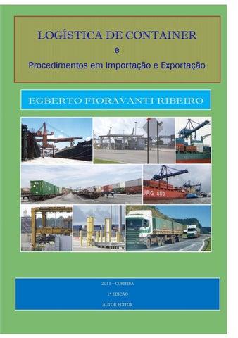 Logística de Container by Egberto Ribeiro - issuu a1f443d00f5a5