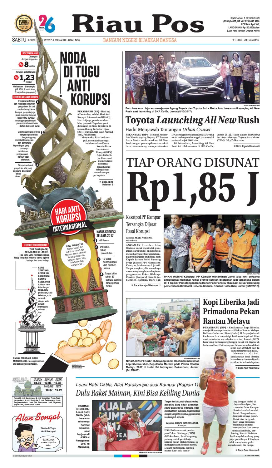 2017 12 09 by Riau Pos - issuu f07186d6d5