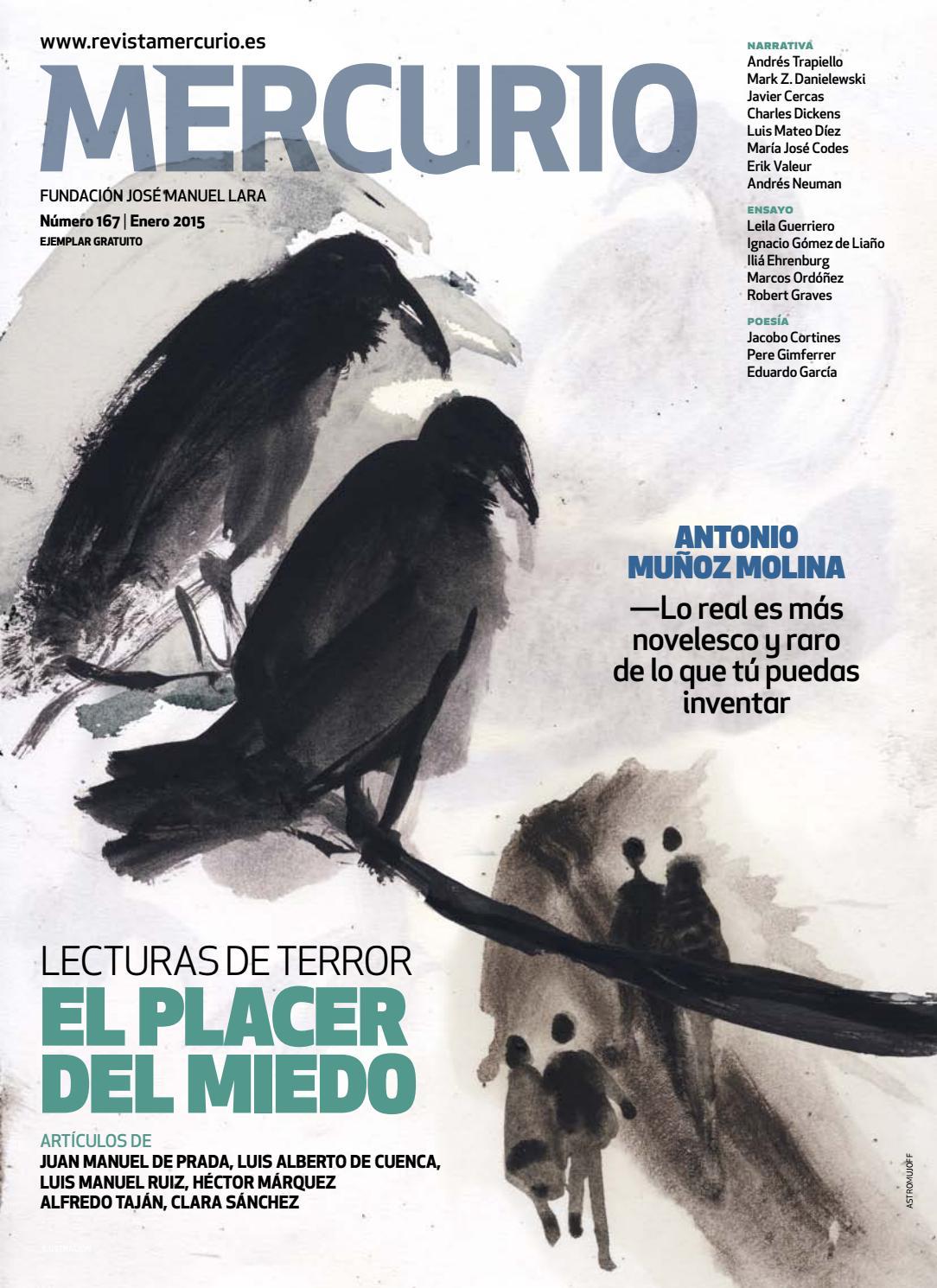 Mercurio 167 - El placer del miedo. Lecturas de terror by mario guerola -  issuu a286f55bacf