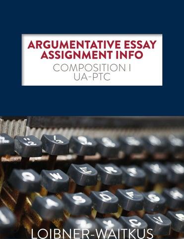 argumentative essay assignment
