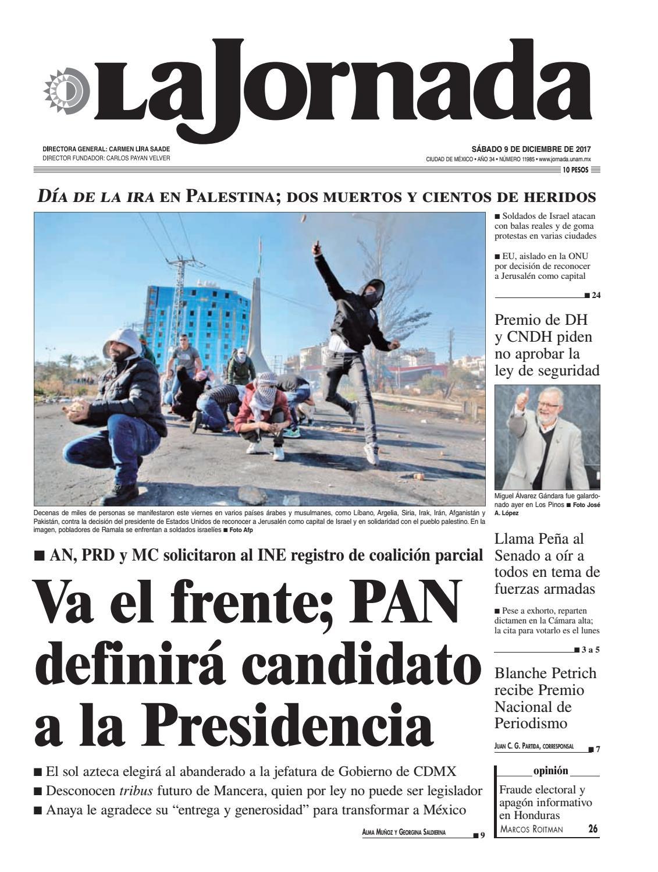 La Jornada, 12/09/2017 by La Jornada: DEMOS Desarrollo de Medios SA ...