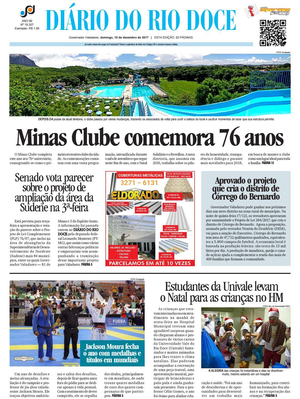Diário do Rio Doce - Edição de 10 12 2017 by Diário do Rio Doce - issuu fddeb92add