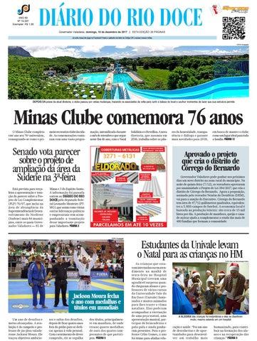 97c5493832de9 Diário do Rio Doce - Edição de 10 12 2017 by Diário do Rio Doce - issuu