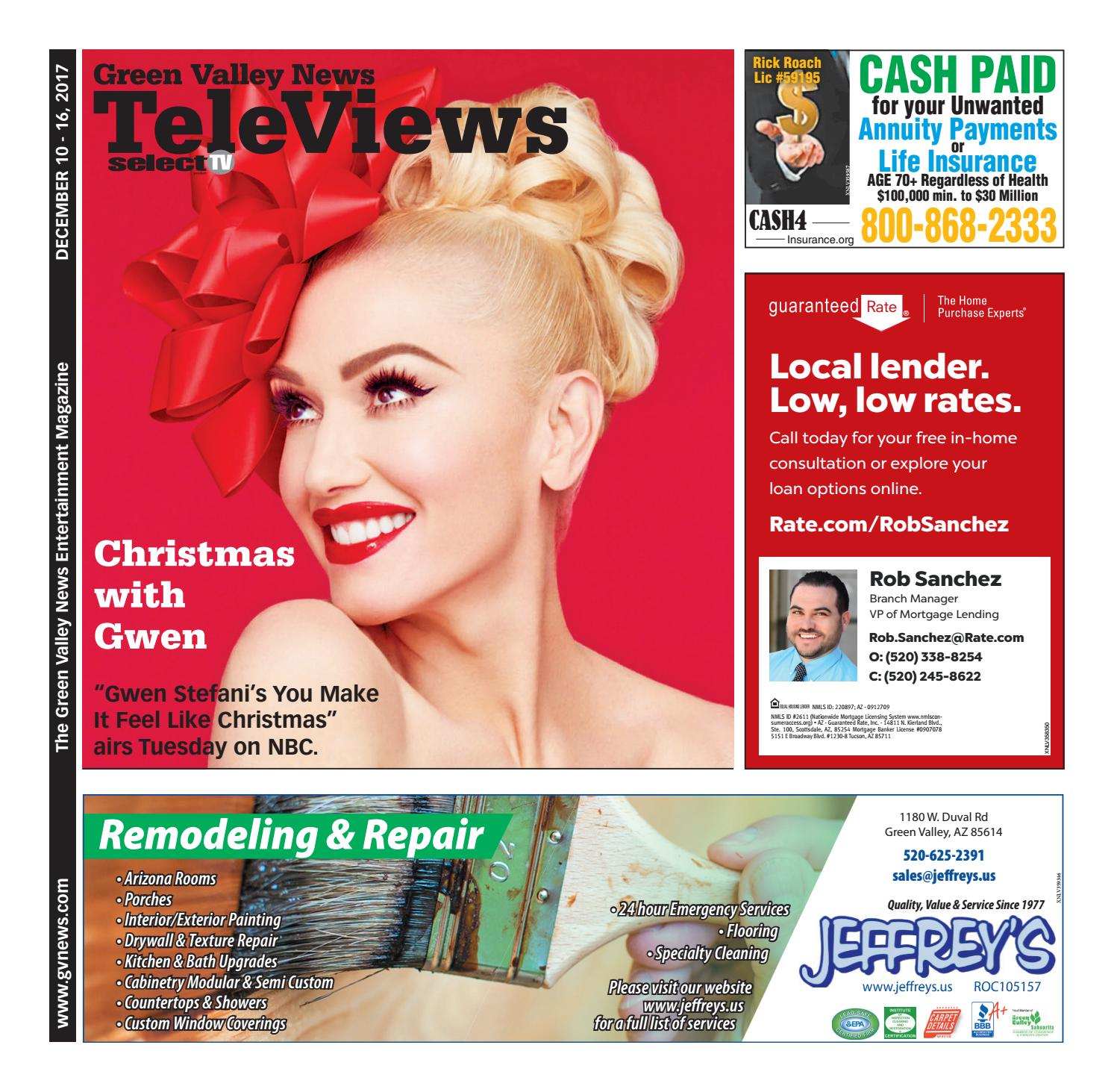Televiews: Sunday, December 10, 2017 by Wick Communications