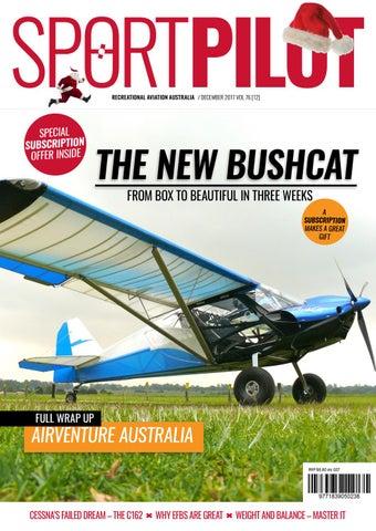 Sport pilot 76 dec 2017 by Recreational Aviation Australia