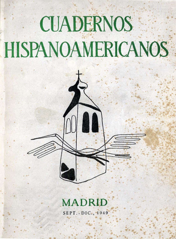 Cuadernos Hispanoamericanos 11 12 Septiembre Diciembre 1949 1 274  # Muebles Sastre Viso Alcor