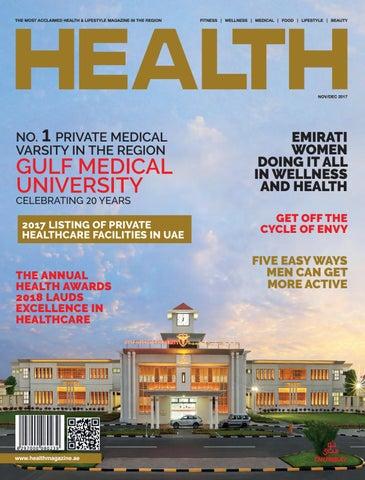 b5e60f164 Health Magazine November - December 2017 by Health Magazine - UAE ...