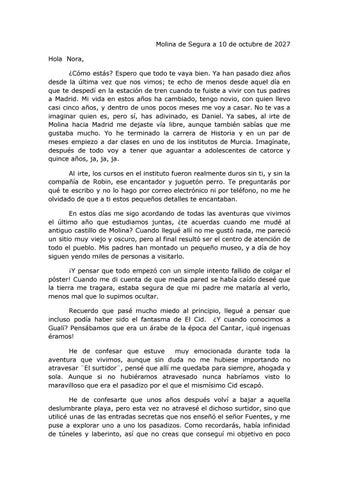 El Grafiti Del Cid Carta óscar Blasco By Carlota Bloom Issuu