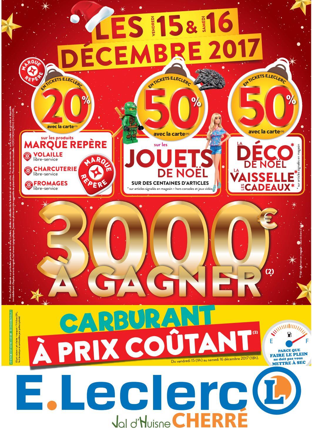 Centre Eleclerc Cherré La Ferté Bernard 15 Et 16 Dec By