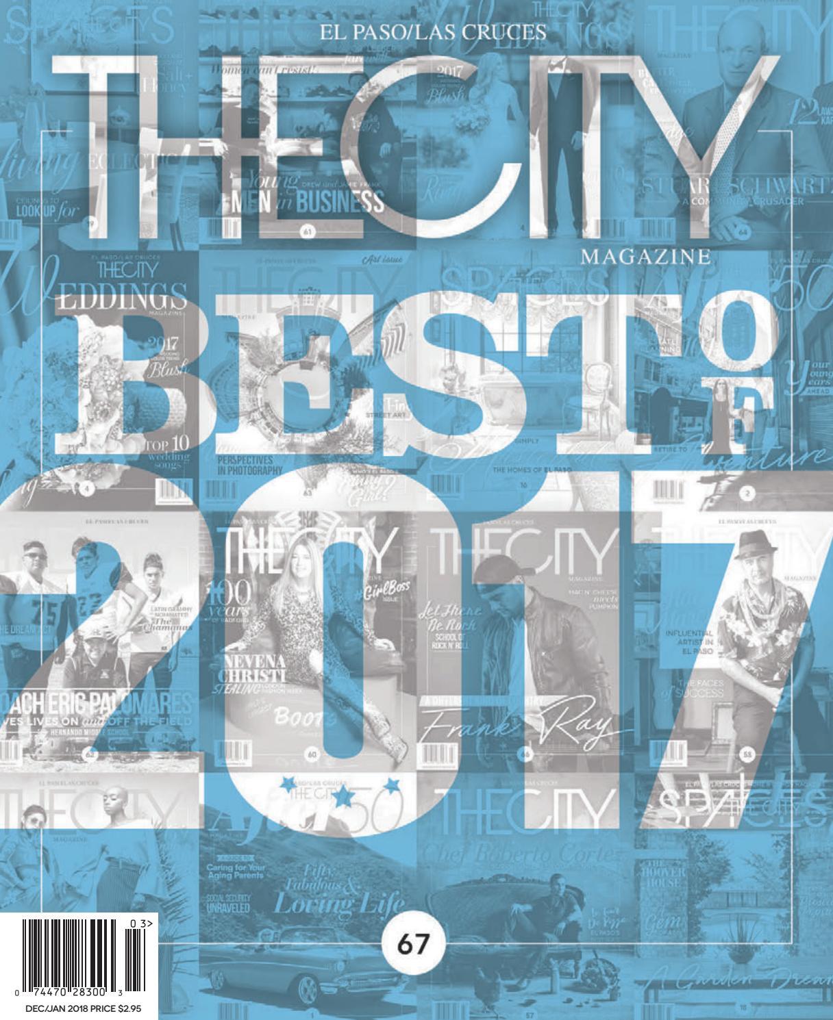 thecity magazine el paso best of 2017 by thecity magazine el paso