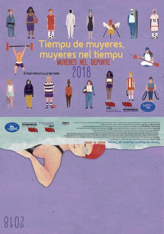 "Calendario de STEs-intersindical ""Tiempu de muyeres 2018"" Asturiano"