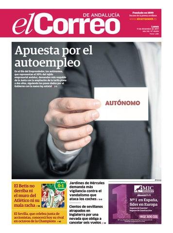 bfe626388 11.12.2017 El Correo de Andalucía by EL CORREO DE ANDALUCÍA S.L. - issuu