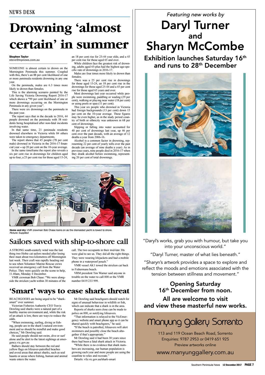 12 December 2017 by Mornington Peninsula News Group - issuu