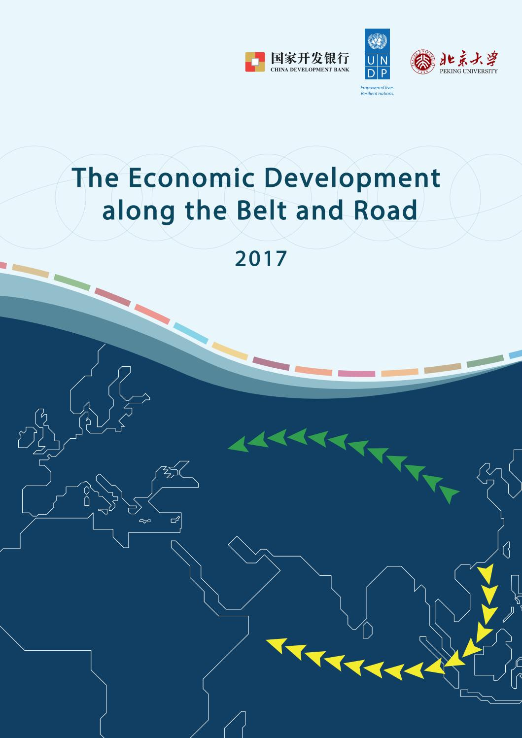 The Economic Development along the Belt and Road 2017 by