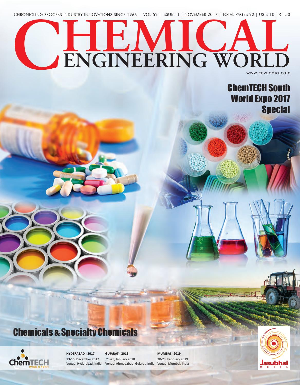 cew november 2017 low by chemical engineering world - issuu