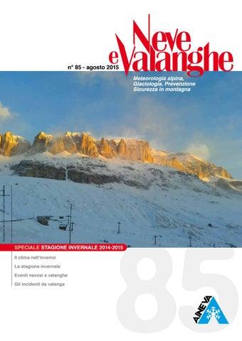 Neve e Valanghe 90 by Aineva - issuu b49db7460084