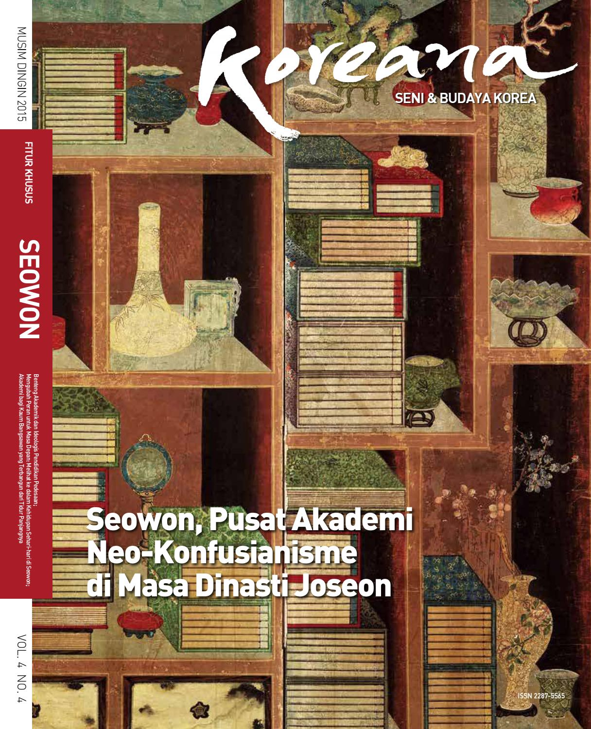 Koreana winter 2015 indonesian by the korea foundation issuu
