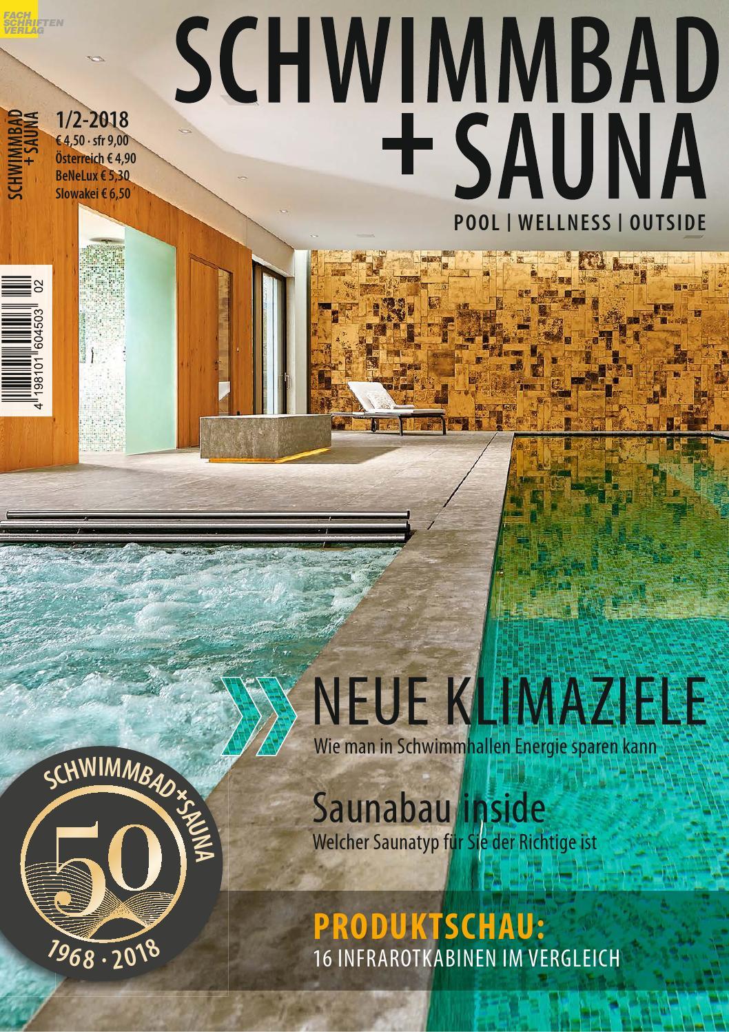Schwimmbad+Sauna 1/2-2018 by Fachschriften Verlag - issuu