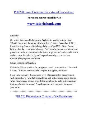 Phi 220 Course Marvelous Learning Tutorialrank By Coa