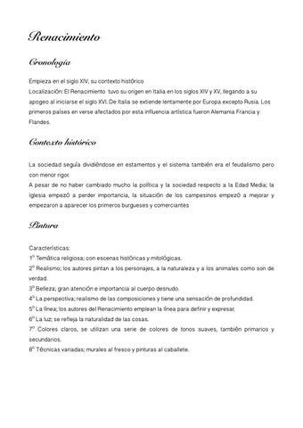 Renacimiento y barroco revista by santamariadelosvolcanes4