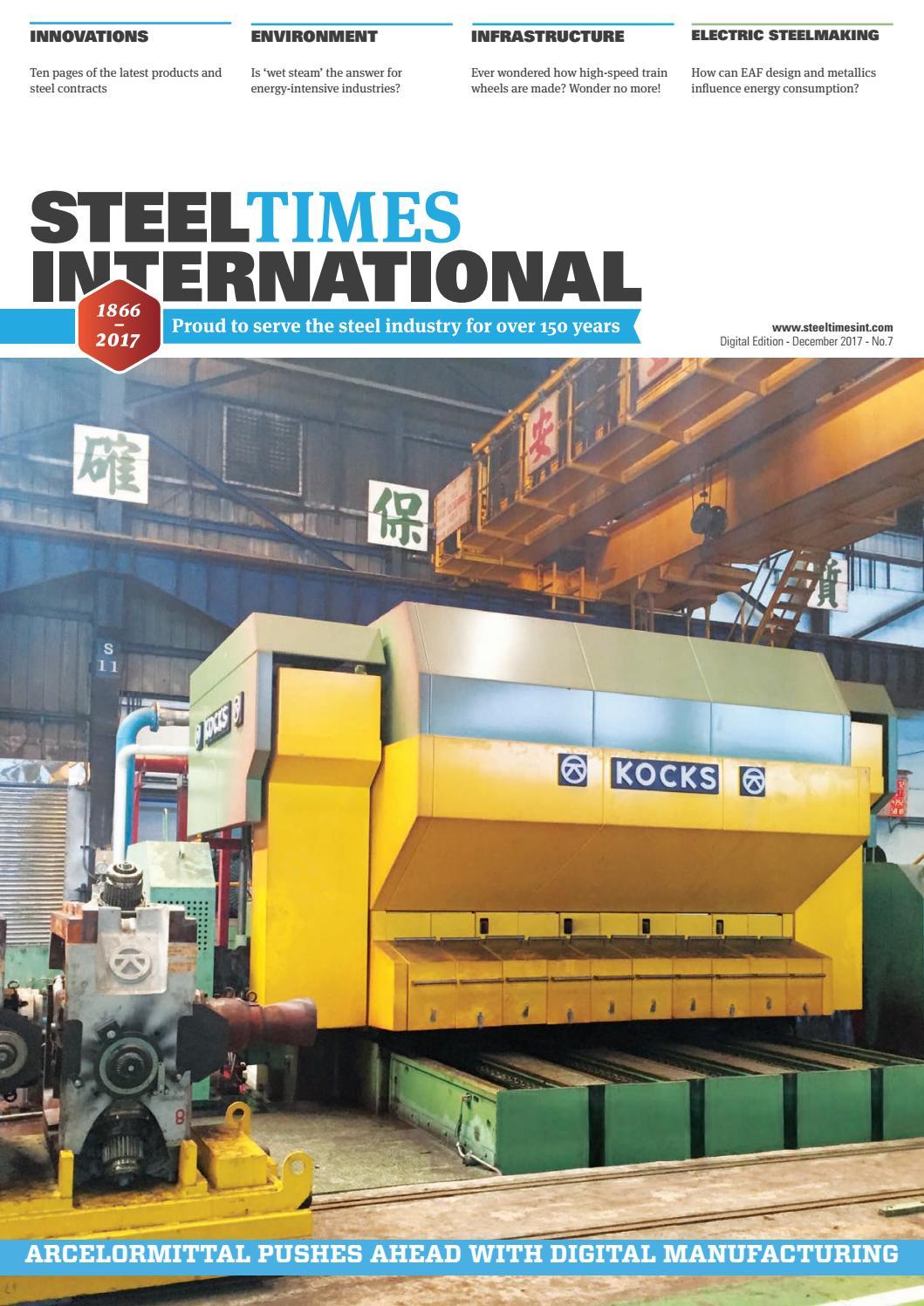 Steel Times International Digital December 2017 by Quartz
