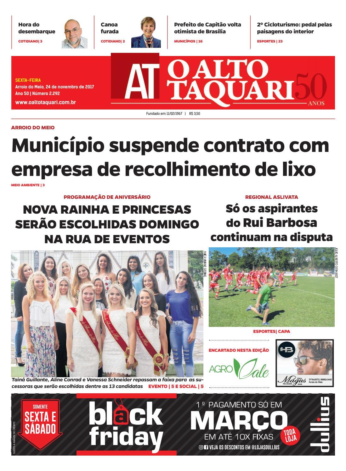 f0bff2698e Jornal O Alto Taquari - 24 de novembro de 2017 by Jornal O Alto Taquari -  issuu