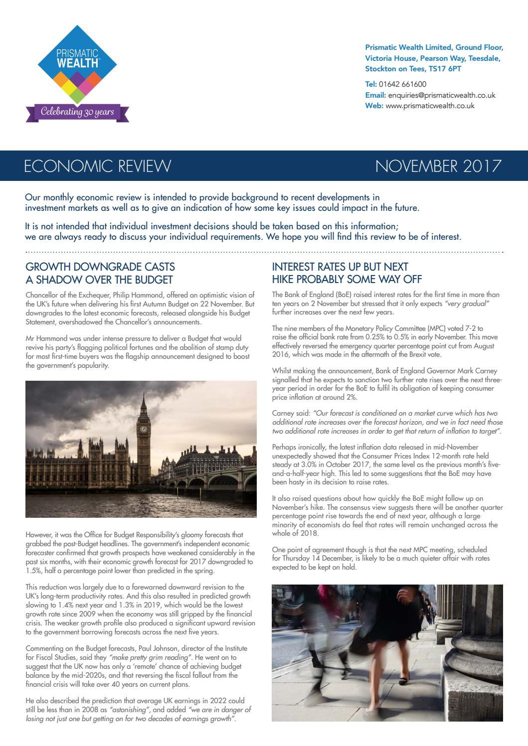 Prismatic Wealth Economic Review - Nov 17 by Prismatic