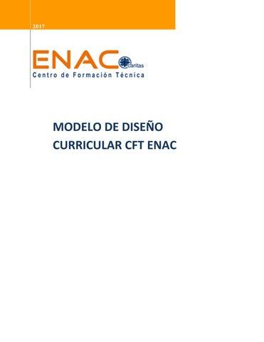 Modelo De Diseño Curricular By Enac Issuu