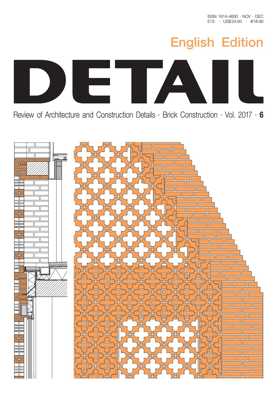 Detail English 6 2017 Brick Construction By Detail Issuu