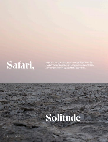 Page 24 of Safari, Solitude and Salt
