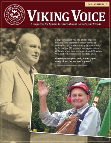 Viking Voice Fall 2017 By Lyndon Institute Issuu