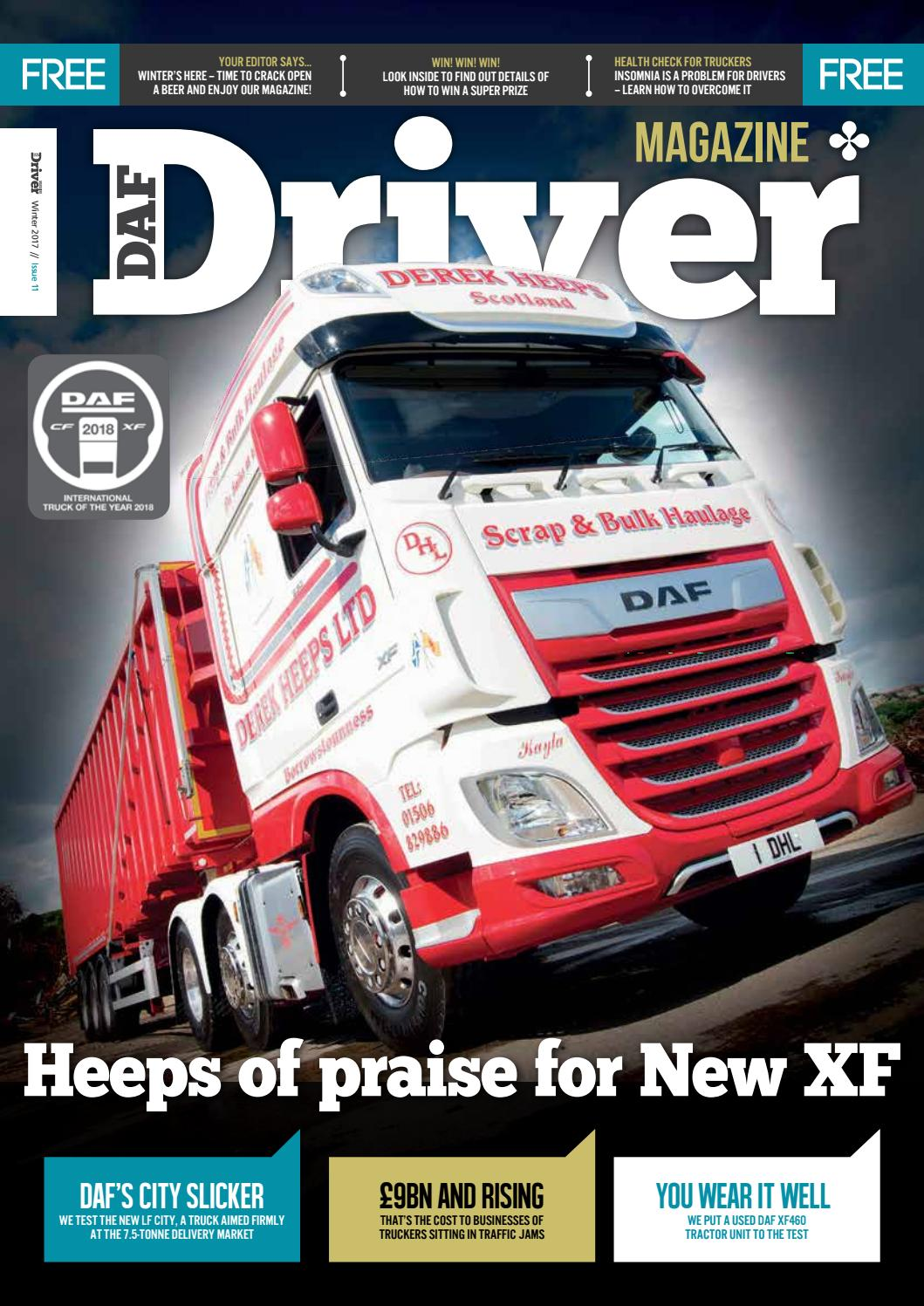 d6077689c9 DAF Driver Winter 2017 – issue 12 by Smith Davis Press - issuu