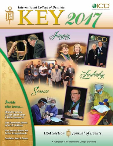 Key 2017 By International College Of Dentists Usa Section Issuu