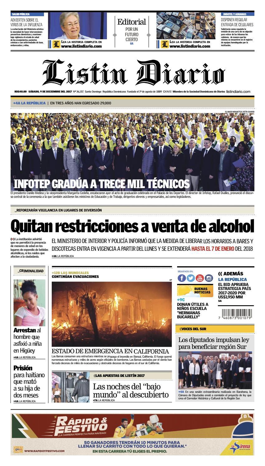 LD 09-12-2017 by Listín Diario - issuu