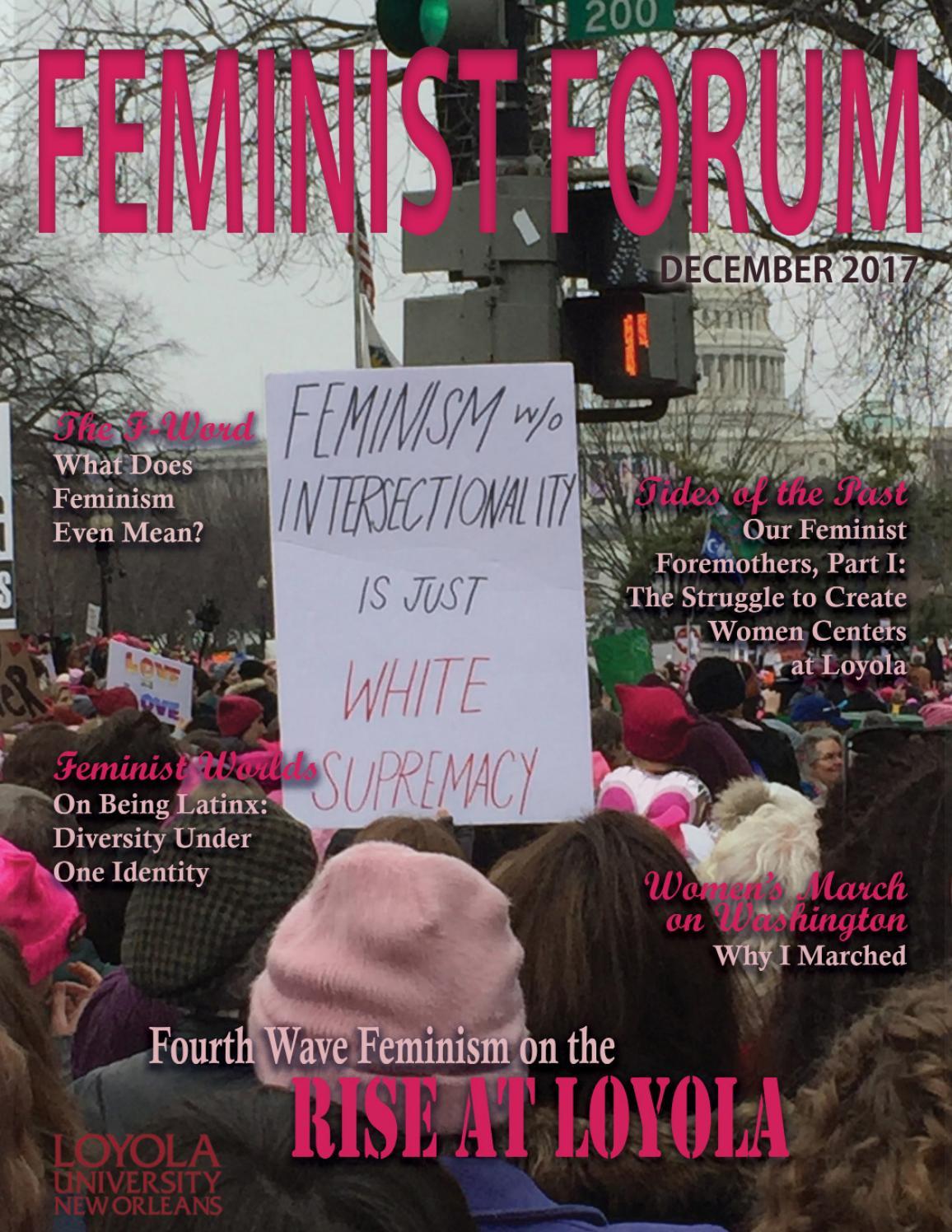 dc3c3c90d94c5 Feminist Forum Magazine Winter 2017  Women s Resource Center by Loyola  University New Orleans - issuu