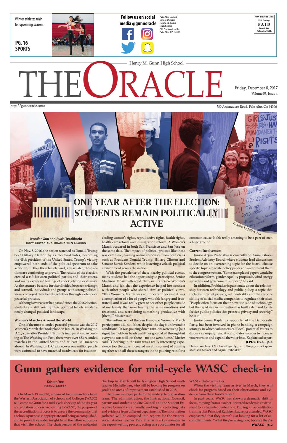 The Oracle - December 2017 by The Oracle - issuu