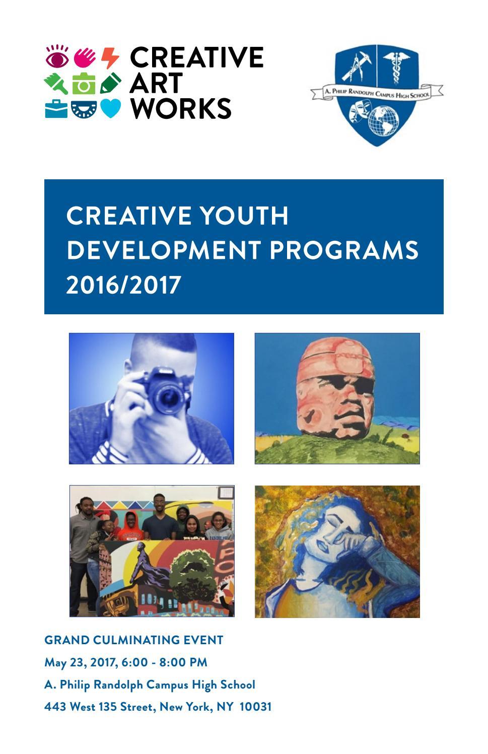 Creative Art Works Programs at A  Philip Randolph HS, 2016