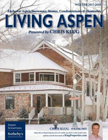 aspen luxury life magazine winter 2017 by aspen luxury life