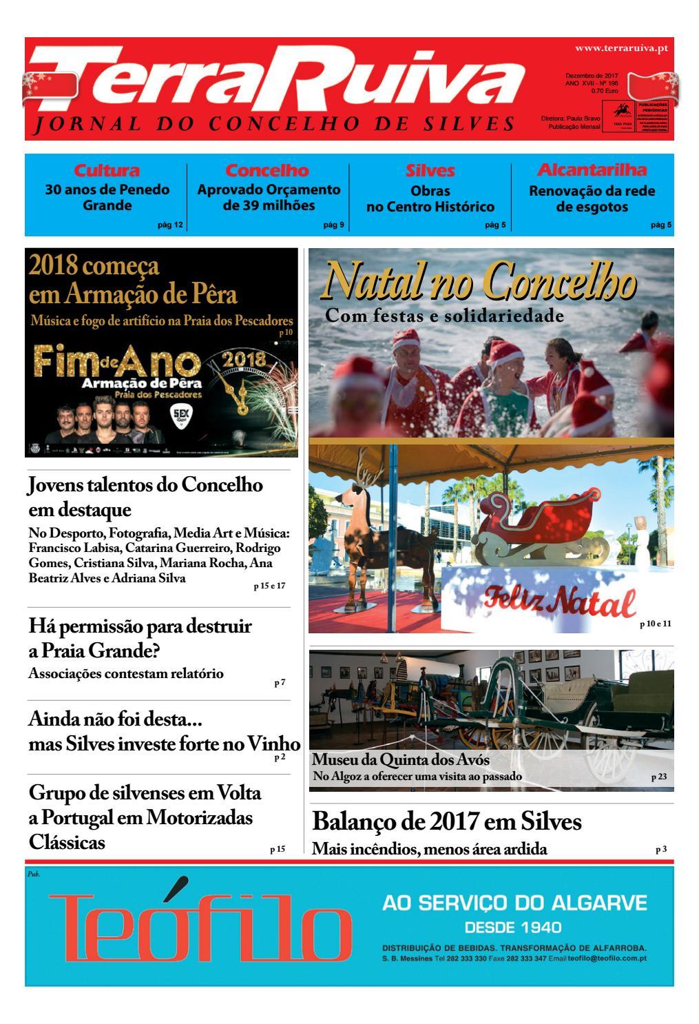 2ac0375fc Jornal Terra Ruiva - Edição de Dezembro 2017 N. 196 by Bruno Cortes - issuu
